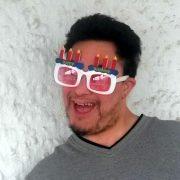 "Josh says ""Happy Birthday!"""