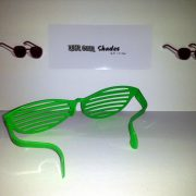 Jumbo shutter style shades