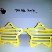 Jumbo yellow shutter stars