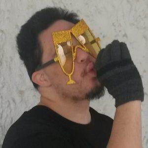 Gold Glitter Flutes