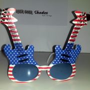 patriotic guitar shades front