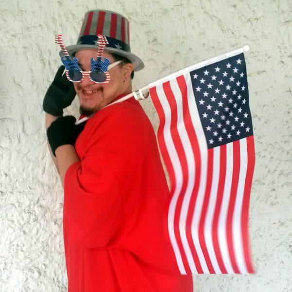 Patriotic Guitar Shades