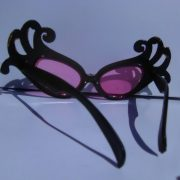Mardi Gras Wings glasses on Rock Star Shades